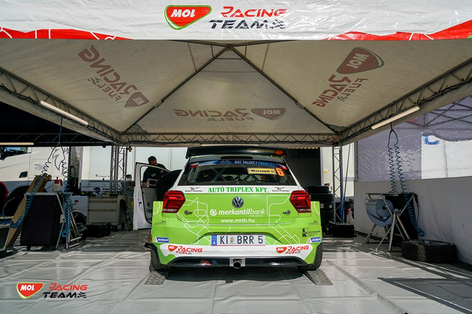 A MOL Racing Teamnek véget ért a Barum Rally